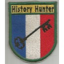 Patch brodé History Hunter - Chasseur d'Histoire