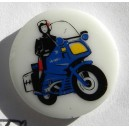 Pin's Motard Gendarmerie Nationale (7)