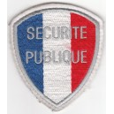 Ecusson Sécurité publique à velcro - Police Nationale